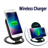 Lazy Table Fast Qi Wireless Mobile Phone Charging Stand Wireless Charger