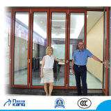 Ak75 Latest Designs Front Aluminum Alloy Glass Folding Door