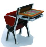 Multi-Media University Classroom School Student Desk and Chair