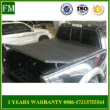 Bed Soft Tri-Fold Solid Fold Tonneau Cover Ford Toyota RAM