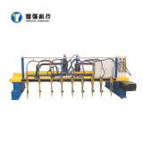 CNC-5000 Dual Drive Flame Steel Structure Cutter Production Line for Warehouse Buliding
