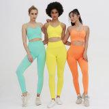 Whosale Latest Design Seamless Yoga Wear Women Seamless Suit