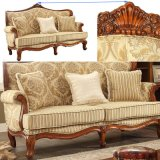 American Wood Fabric Sofa in Optional Sofas Seats and Furniture Color