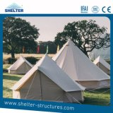 Outdoor Waterproof Glamping Yurt Tent Family Camping Canvas Bell Tent