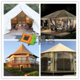 Customized Bell Resort Luxury Tent for Camping/Party/Home Use