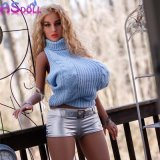 Silicone TPE Sex Doll 158cm Soft Big Breast Love Real Life Size Sex Toys