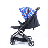 D168 Blue Pattern Baby Stroller From China OEM Factory