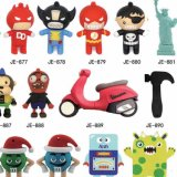 Wholesale Price Promotional USB Flash Drive Cartoon PVC Bear USB Flash Drive Disk