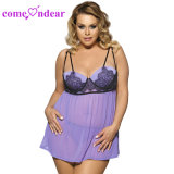 Plus Size Women Sexy Lingerie with G-String