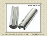 201 Wholesale Round Welded Stainless Steel Slot Tube