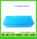 48V 18ah Rechargeable Lithium Battery Pack with Ce Certification