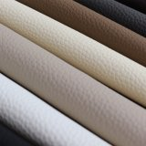 Cheap Litchi PVC Leather Home Textile and Sofa Leather Products Material with 1.0mm Thickness
