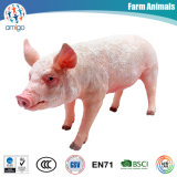 Lifelike Plastic Pig Kids Toys