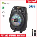 Hot Sale Popular Colour Full LED Cheap Mini Rechargeable Bluetooth Speaker with LED Q3