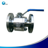 High Quality Stainless Steel Side Entry Flange Floating Ball Valve