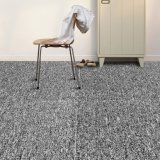 River-H - 1/10 Gauge Polypropylene Bcf Flat Loop Jacquard Carpet Tile with Bitumen Backing