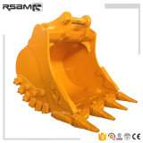 Rsbm Excavator Parts for Caterpillar Komatsu Volvo Excavator Spare Parts Cleaning Standard Heavy Duty Rock Bucket