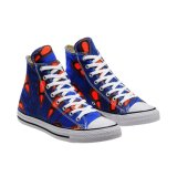 Adults High-Top Wax Fabric Rubber Shoes Foot Wear