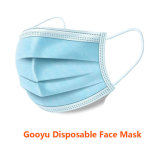 3ply 3 Ply Respirator Medical Supply Disposable Protective Facial Masks Face Mask with Cheap Wholesale Price Non Woven Earloop with High Quality for Sale