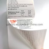 Cheap Roll Logo Printing Thank You Stickers Customized Printed Adhesive Packaging Label Sticker