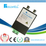 Mini Indoor Active FTTH 2 Way Output CATV Optical Receiver with Wdm Function