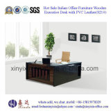 Melamine Executive Office Desk in Wooden Office Furniture (S21#)