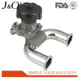 Sanitary Stainless Steel U Type 3-Way Diaphragm Valve