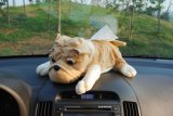Car Decoration Dog Shape Plush Stuffed Tissue Box Cover