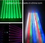 Best Selling 8PCS 10W RGBW Four in One CREE LED Beam Light LED Moving Head Disco Light
