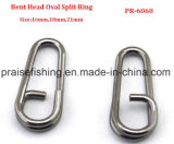 Fishing Round Oval Split Rings Bent Head Oval Split Ring