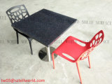 Italian Latest Design Marble Restaurant Table Chairs