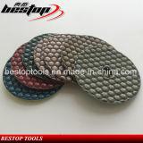"4"" Dry Diamond Polishing Pad for Stones and Concrete"