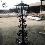 Factory Supplier Outdoor Antique Art Decorative Cast Iron Street Lamp Ilb-04