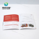 Customized Brochure with Perfect Binding Printing (Use for Promotion)