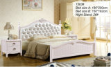 Ikea Bedroom Sets, America Bed, Wooden Bed (1563)