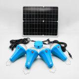 20W Solar System with 4 LED Solar Lamp 435lum Solar Portable System