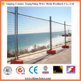 High Zinc Rate Low Carbon Steel Temporary Wire Mesh Fence