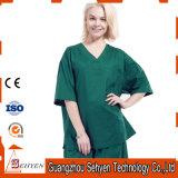 100% Cotton V-Neck Style Medical Uniform Scrubs