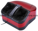 Red Shiatsu Foot Massager with Heat & Easy-to-Use Removable Cover for Easy Washing
