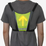 Signal LED Reflective Vest for Biking or Cycling