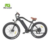 """Factory Price 26""""X4.0 Electric Fat Tire Snow Bicycle 500W Mountain Bike"""