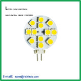 LED G4 Lamp Disc Type/10-30V/2.8W/280lm/Gy6.35/Warm White/Cool White