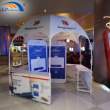 3X3 Steel Promotion Stand Removable Dome Tent Kiosk with Five Tables for Sale