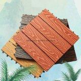 3D Floor Panels WPC Mix Color Deck Boards Waterproof Outdoor Garden Floor