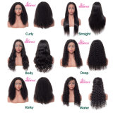 10A Brazilian Lace Wig Natural Black Virgin Hair Full Lace Wig Human Hair Wig