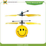 Induction Aircraft Emojis Face Facial Expression Remote Control Helicopter Toy