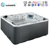 Above Ground Free Standing Portable Hot Tub for 7 Persons