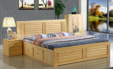 Solid Wooden Bed Modern Beds (M-X2232)
