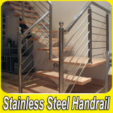Indoor Hairline Finish 304 Stainless Steel Stair Handrail