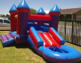 Jumping Castles Inflatables With Slide Pool (B3021)
